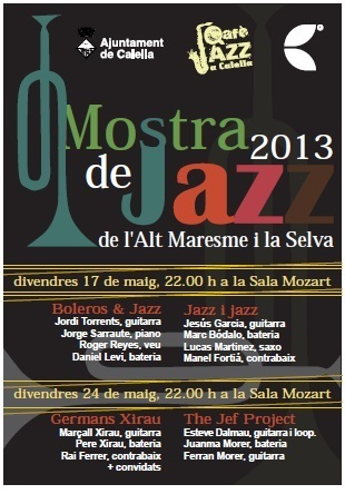 1era Mostra Jazz Alt Maresme i la Selva‏ | Actualitat Jazz | Scoop.it