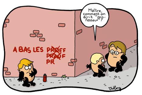 Grammaire française en images | Remue-méninges FLE | Scoop.it