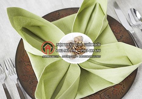 Địa chỉ may khăn ăn napkin đẹp, giá rẻ tại Hà Nội | Thế giới mới | Scoop.it
