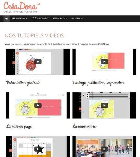 Livres numériques mais aussi papier avec le service Créadona | Ressources Ecole | Scoop.it