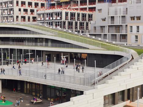 chartier dalix's parisian primary school encourages biodiversity - designboom | architecture & design magazine | Designing environments for Learning | Scoop.it