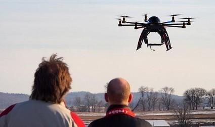Des drones s'envoleront dans le ciel parisien en septembre prochain | geeko | Drone | Scoop.it