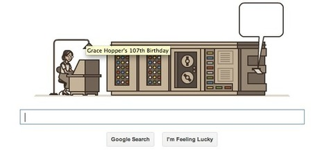 Google Doodle Honors Grace Hopper, Early Computer Scientist | Coffee Party Feminists | Scoop.it