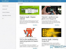 SyndiFeed : un lecteur [online] de flux RSS d'un nouveau style [mais sans import/export OPML] | RSS Circus : veille stratégique, intelligence économique, curation, publication, Web 2.0 | Scoop.it