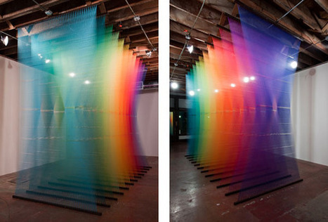 Gabriel Dawe | Art Installations, Sculpture | Scoop.it
