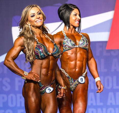 Fake tan and muscles hide the dangerous world of fitness competitions | The Human Body | Scoop.it