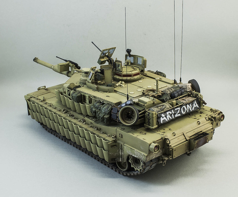 ABRAMS TUSK II of the M1A2 <br/>Meng the Model 1:35 | Military Miniatures H.Q. | Scoop.it