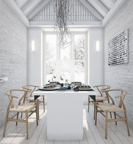 Wegner, white, wishbone chair | Interior | Pinterest | Kreativt til Kjøkkenet | Scoop.it