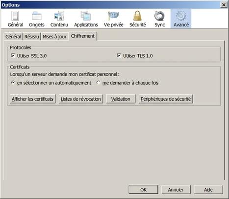 Ajouter une exception de sécurité pour un certificat SSL sous Firefox ! | Informatique | Scoop.it
