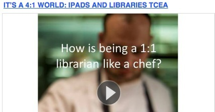 Not just about the device — Libraries and cultural change in 1:1 environments | School Librarian As Building Leader | Scoop.it