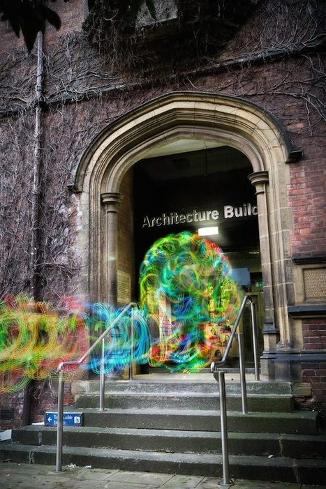 Ghostly Images of WiFi Signals Captured Using Long Exposure Photography and an Android App | Photodroid | Scoop.it