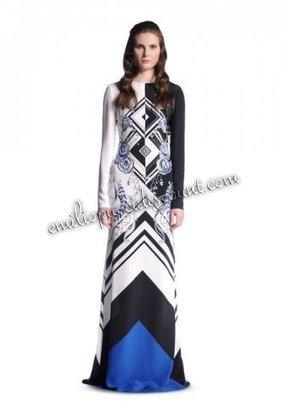 2014 Emilio Pucci Silk Crepe De Chine Evening Gown [Silk Crepe De Chine Gown] - $212.99 : Emilio pucci dresses online outlet,discount pucci dresses on sale! | fashion dress | Scoop.it
