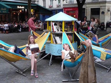 A Paris, la BIBLIAMBULE, une bibliothèque «z'ambulante» voit le jour ! | URBANmedias | Scoop.it