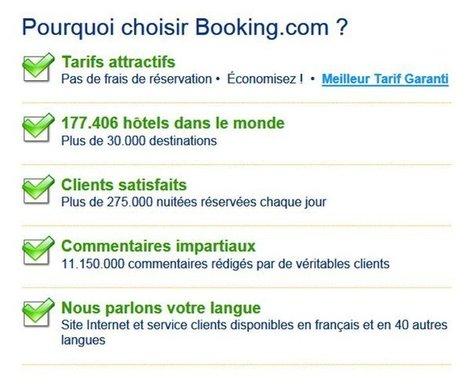 Pourquoi Booking est le meilleur en réservation hôtelière | hotel-marketing | Scoop.it
