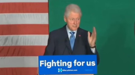 Bill Clinton Slams 'The Awful Legacy Of The Last Eight Years' (VIDEO) | Upsetment | Scoop.it