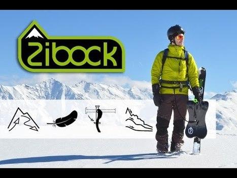 Le Zibock: un nouveau engin de glisse destiné aux randonneurs | Montagne TV | Scoop.it