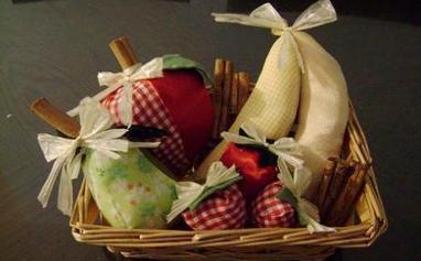 Frutas de patchwork, enviadas por Malu - Las Manualidades | MANUALIDADES | Scoop.it