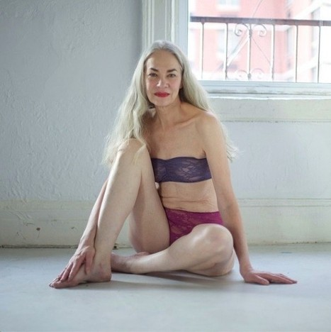Meet 62-Year-Old Jacky O'Shaughnessy - American Apparel's New Underwear ... - IBTimes India | How to buy a Genuine Leather Jacket | Scoop.it