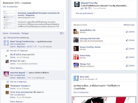 Facebook : bientôt la hiérarchisation des commentaires - Fredzone | Facebook…et ses techniques | Scoop.it