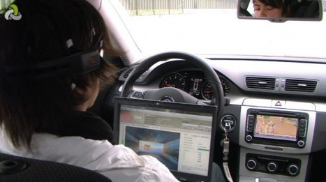 Inside a Google auto-driving car | Robolution Capital | Scoop.it
