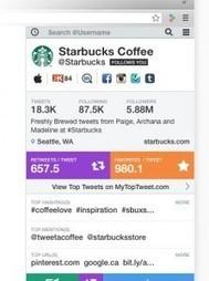 Riffle. Connaitre les statistiques d'un compte Twitter | Learning 2.0 ! | Scoop.it