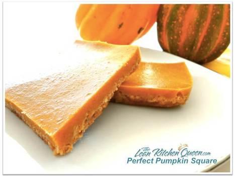 Personal Pumpkin Pie Squares   Health & Fitness   Scoop.it