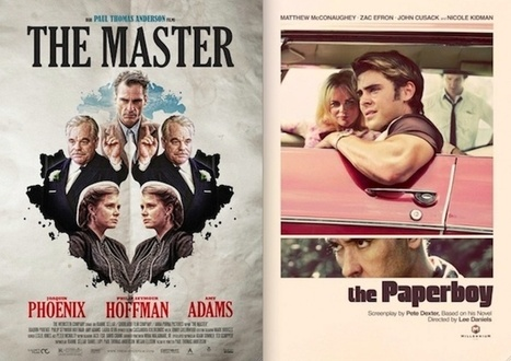 Best Movie Posters of 2012: Retro, Sexy, Design-y, Scary, Striking and Stylish   Design Inspiration Twenty13   Scoop.it