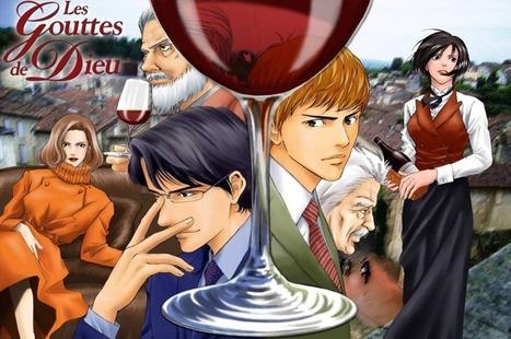 Les Gouttes de Dieux, le manga des grands vins ! - Comptoir des Millésimes : le Blog | Vins Grands Crus et Vieux Millésimes | Scoop.it