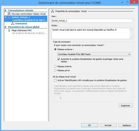 Les commutateurs virtuels sous Hyper-V - Virtualisation > Hyper-V - Tutoriels | Neoflow.fr | Administration Système | Scoop.it