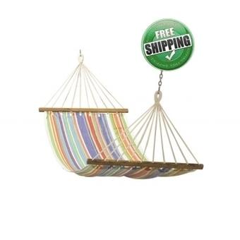 Buy 11'ft colorful fabric hammock online in India | Hammocks in India | Scoop.it