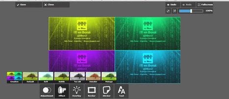 Pixlr, clon de Photoshop, gratuito y en español. | ByL InEdu | Scoop.it
