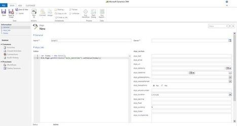 Xrm JavaScript Dojo ~ CRM Answers   Microsoft Dynamics CRM   Scoop.it