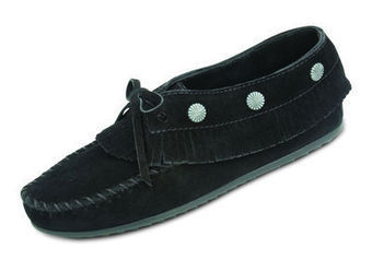 Fringed Moc - Shop Mens, Womens, Childrens Moccasins - The Moccasin Shop | TheMoccasinShop | Scoop.it