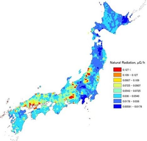[Jpn] Japon : Carte de mesures de radioactivité | GSJ.jp | Japon : séisme, tsunami & conséquences | Scoop.it