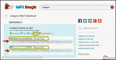 MP3 Beagle-toute la musique que vous aimez gratuitement ~ ZinfosWeb | Télécharger et écouter le Web | Scoop.it