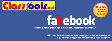 Fakebook - create a fake social profile at www.classtools.net (@classtools) | Social Media Projects in Social Studies | Scoop.it