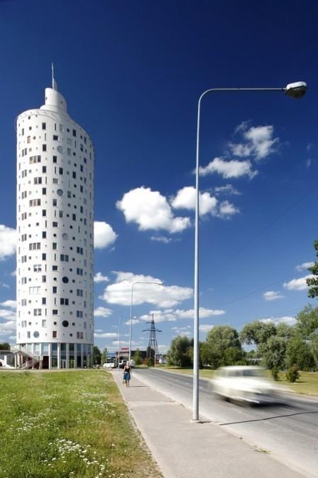 [ Tartu, Estonia] Snailtower / Künnapu & Padrik Architects | The Architecture of the City | Scoop.it