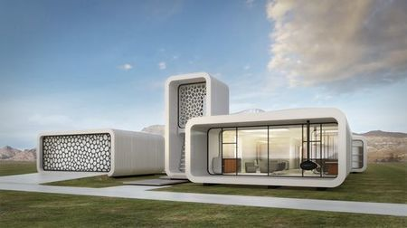 World's first 3D-printed office building to go up layer by layer in Dubai   Darren Quick   Gizmag.com   @The Convergence of ICT & Distributed Renewable Energy   Scoop.it