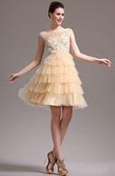 [EUR 99,99] eDressit 2013 Nouveauté Perlé Sans Manche Robe de Cocktail Robe de Bal(04134114) | Fashion Show | Scoop.it