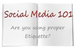 Social Media Etiquette: how to connect with people - Social Media and Marketing by Bogdan Fiedur | Library | Scoop.it
