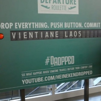 Heineken Asks Travelers at JFK to Drop Everything, Fly to Mysterious Location | Travel Retail | Scoop.it