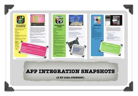 TECHCHEF: App Integration Snapshots | 21st Century Education Solutions | Scoop.it