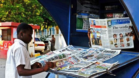 This app is changing the way Tanzania reads the news | Afrika | Scoop.it