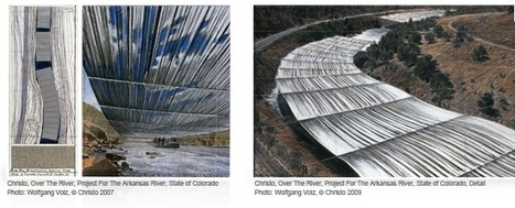 U.S. Approves Christo's 'Over the River' Project in Colorado | Art Installations, Sculpture, Contemporary Art | Scoop.it