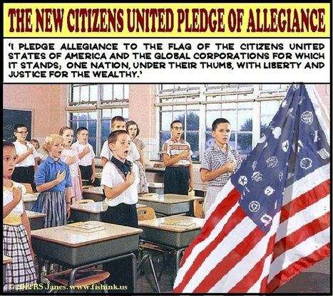 Cartoon-Citizens-United-Pledge.jpg (850x757 pixels) | Politicality | Scoop.it