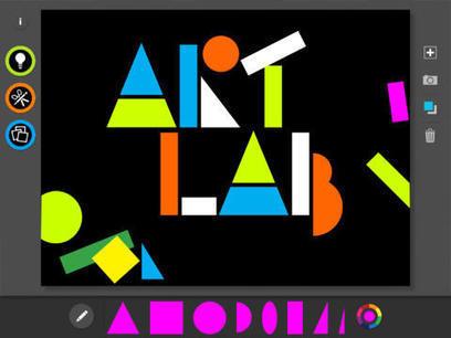 MoMA Art Lab : une excellente appli pour découvrir l'art et créer au primaire - Déclickids | Arts et FLE | Scoop.it