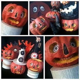 Rhinestone Beagle: HTTC - Pumpkin Folk Art | Halloween & Spooky Fun Stuff~ | Scoop.it