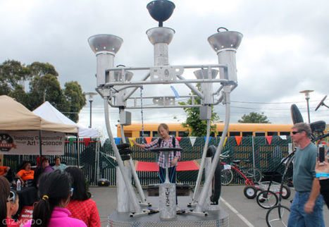 The Most Amazing Things We Saw at Bay Area Maker Faire Last Weekend - Gizmodo | iPads in Education | Scoop.it