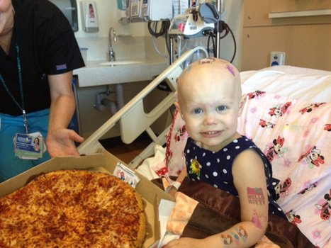 Children's hospital overwhelmed with pizza after cancer patient's window sign goes viral | Troy West's Radio Show Prep | Scoop.it