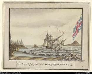 Sirius Shipwreck 1790 | austrailan contact history | Scoop.it